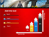 The Businessman Facing Different Roads PowerPoint Template#8