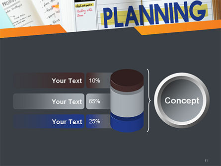 Planning Concept PowerPoint Template Slide 11
