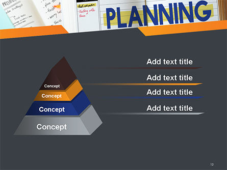 Planning Concept PowerPoint Template Slide 12