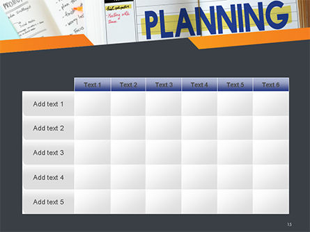 Planning Concept PowerPoint Template Slide 15