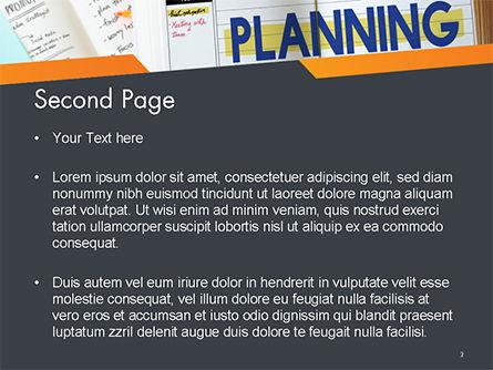 Planning Concept PowerPoint Template, Slide 2, 14705, Business — PoweredTemplate.com