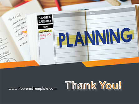 Planning Concept PowerPoint Template Slide 20