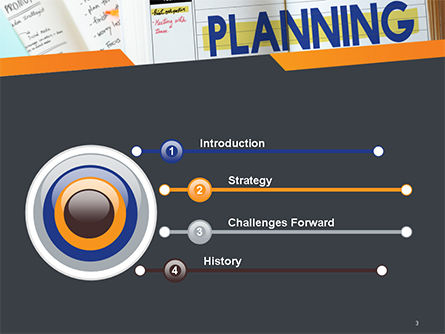 Planning Concept PowerPoint Template Slide 3