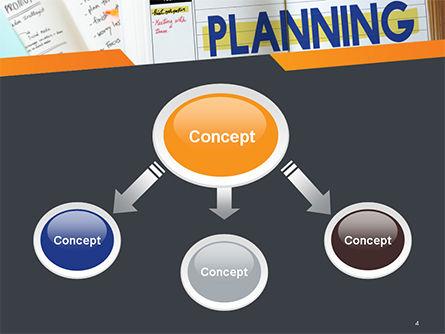 Planning Concept PowerPoint Template, Slide 4, 14705, Business — PoweredTemplate.com