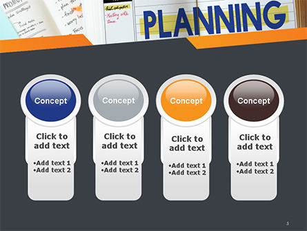 Planning Concept PowerPoint Template Slide 5