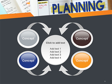Planning Concept PowerPoint Template Slide 6