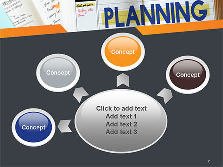 Planning Concept PowerPoint Template Slide 7
