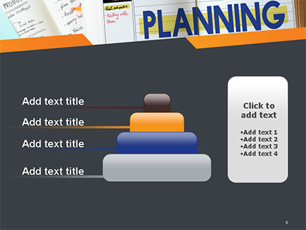 Planning Concept PowerPoint Template Slide 8