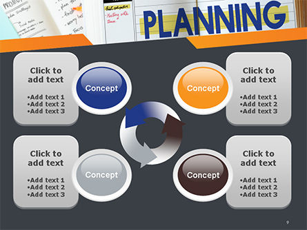 Planning Concept PowerPoint Template Slide 9