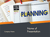 Business: Planning Concept PowerPoint Template #14705