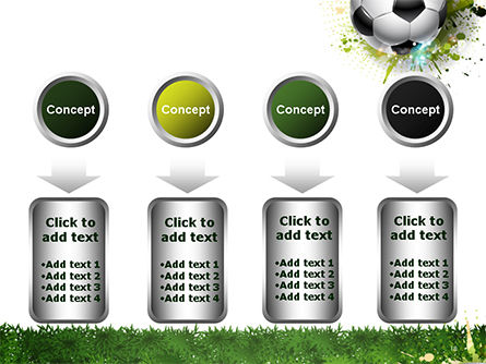 Splash Football Background PowerPoint Template Slide 18