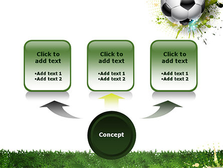 Splash Football Background PowerPoint Template Slide 4