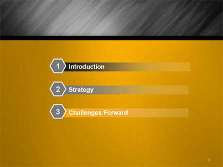 Gray Diagonal Pattern PowerPoint Template Slide 3