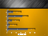 Gray Diagonal Pattern PowerPoint Template#17