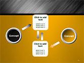 Gray Diagonal Pattern PowerPoint Template#19