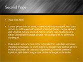 Gray Diagonal Pattern PowerPoint Template#2