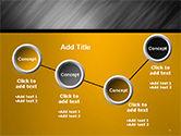 Gray Diagonal Pattern PowerPoint Template#6