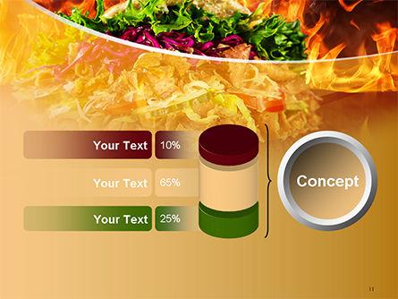 Testy Kebab PowerPoint Template Slide 11