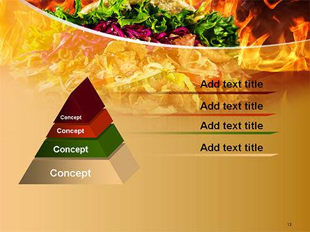 Testy Kebab PowerPoint Template Slide 12