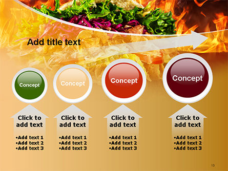 Testy Kebab PowerPoint Template Slide 13