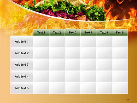 Testy Kebab PowerPoint Template Slide 15