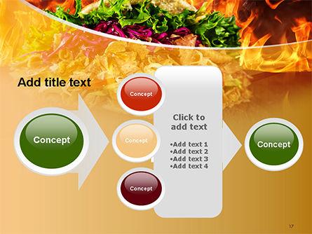 Testy Kebab PowerPoint Template Slide 17