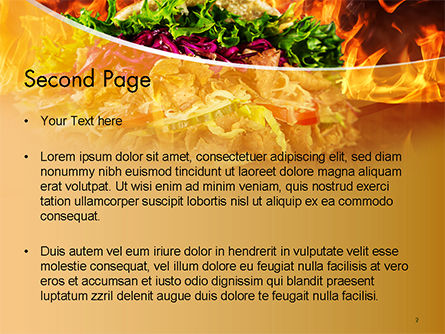Testy Kebab PowerPoint Template Slide 2