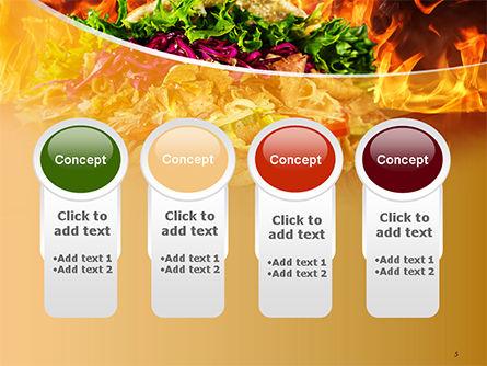 Testy Kebab PowerPoint Template Slide 5