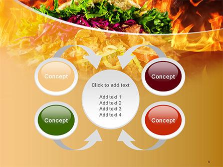 Testy Kebab PowerPoint Template Slide 6