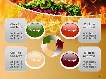 Testy Kebab PowerPoint Template Slide 9