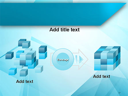 Transparent Blue Triangles PowerPoint Template Slide 17