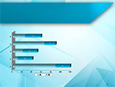 Transparent Blue Triangles PowerPoint Template#11
