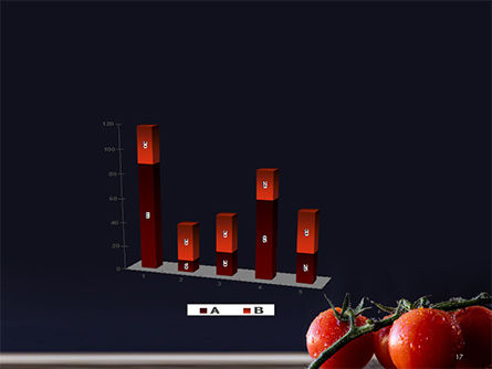 Wet Tomatoes PowerPoint Template Slide 17