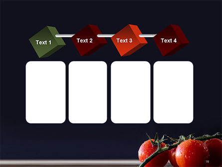 Wet Tomatoes PowerPoint Template Slide 18
