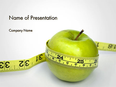 Medical: The Best Way To Lose Weight PowerPoint Template #14722