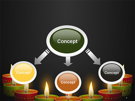 Happy Diwali PowerPoint Template, Slide 4, 14723, Holiday/Special Occasion — PoweredTemplate.com
