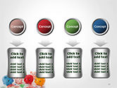 Colorful Piggy Banks PowerPoint Template#18