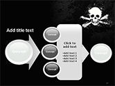 Pirate Flag Black Sails PowerPoint Template#17