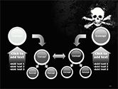 Pirate Flag Black Sails PowerPoint Template#19