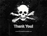 Pirate Flag Black Sails PowerPoint Template#20