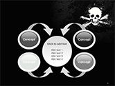 Pirate Flag Black Sails PowerPoint Template#6