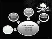 Pirate Flag Black Sails PowerPoint Template#7