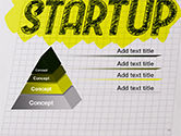 Startup Hand Drawn Label on Paper PowerPoint Template#10