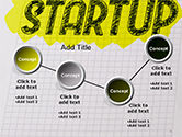 Startup Hand Drawn Label on Paper PowerPoint Template#6