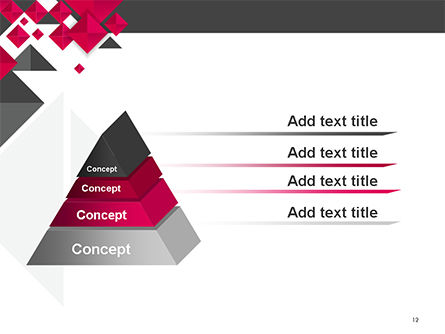 Origami Style Abstract Background PowerPoint Template Slide 12