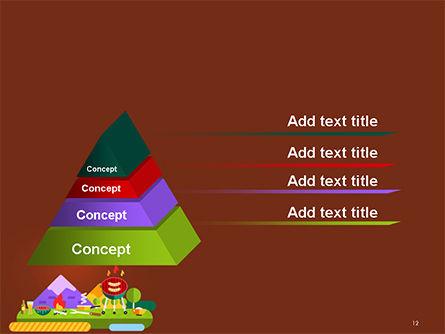 BBQ Picnic Illustration PowerPoint Template Slide 12