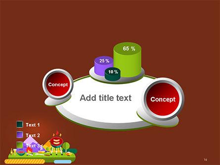 BBQ Picnic Illustration PowerPoint Template Slide 16