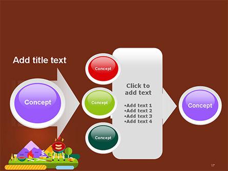 BBQ Picnic Illustration PowerPoint Template Slide 17
