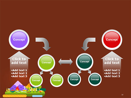BBQ Picnic Illustration PowerPoint Template Slide 19