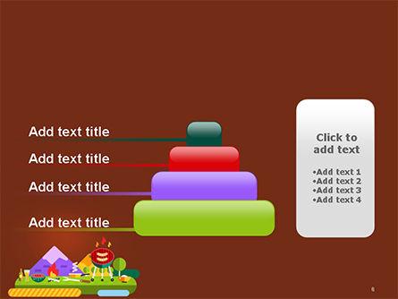 BBQ Picnic Illustration PowerPoint Template Slide 8